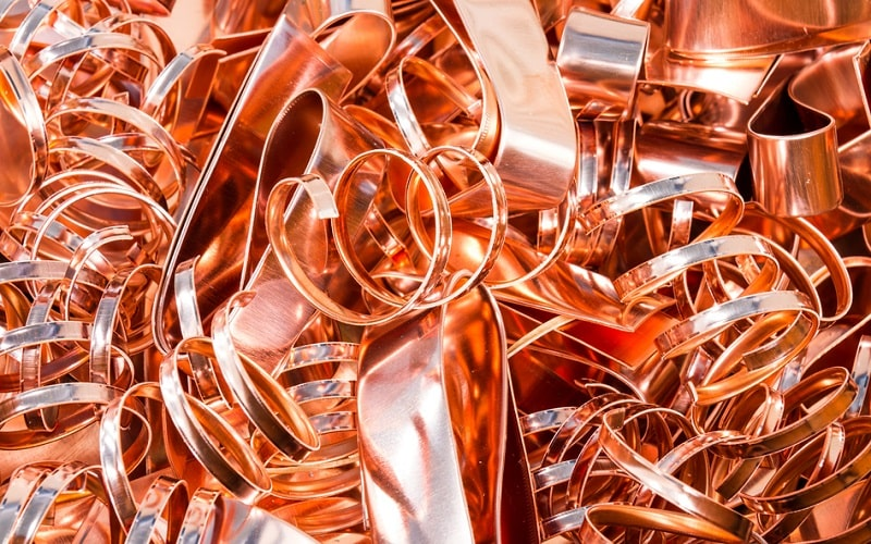 Copper Turnings