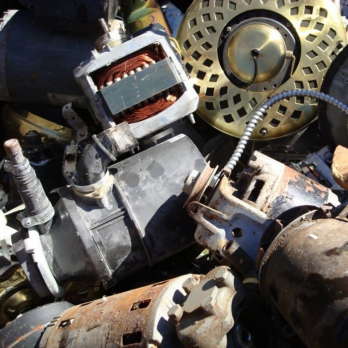 Waste Management- Electric Scrap Motor