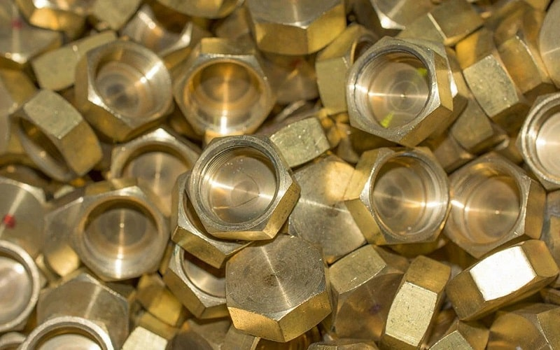 Scrap Brass Nuts